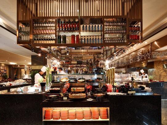 广州卡威尔酒店自助餐厅