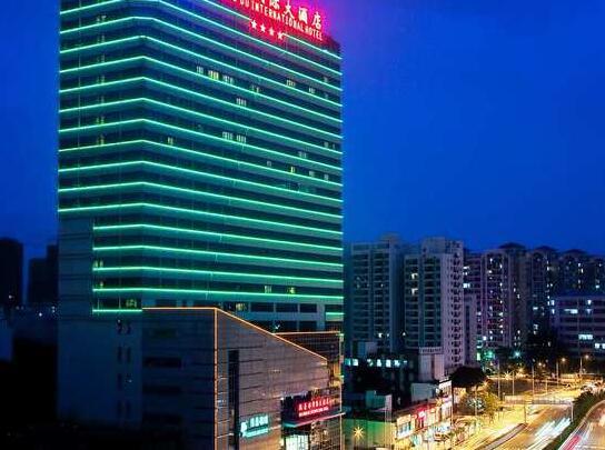 广州凯荣都国际大酒店外观
