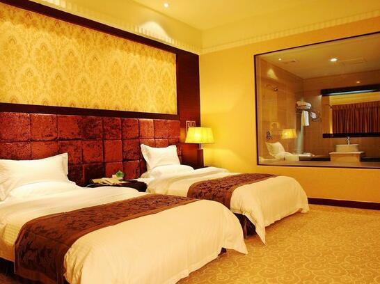 广州凯荣都国际大酒店高级双床房