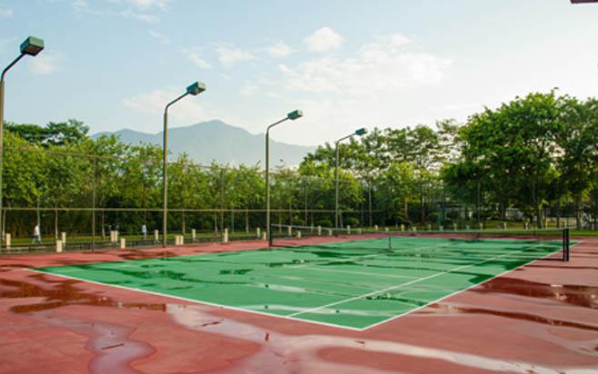 从化碧水湾温泉度假村网球场