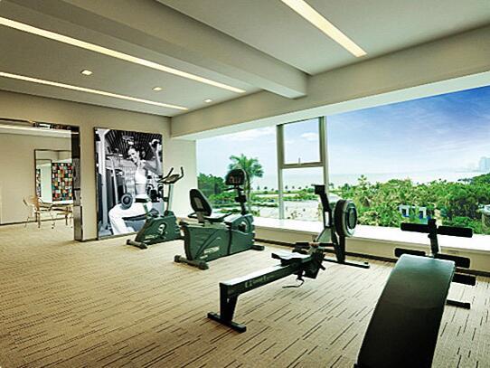 珠海海湾大酒店健身房