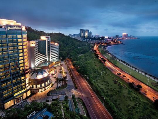 珠海海湾大酒店外观