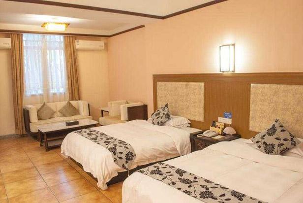 皇家spa酒店双床房