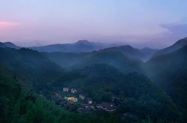 惠州南昆山十字水生态度假村外观
