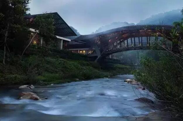惠州南昆山十字水生态度假村竹桥