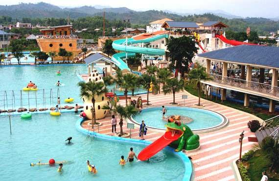 惠州南昆山温泉大观园水上乐园