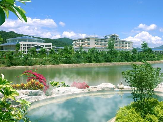 惠州南昆山温泉大观园外观