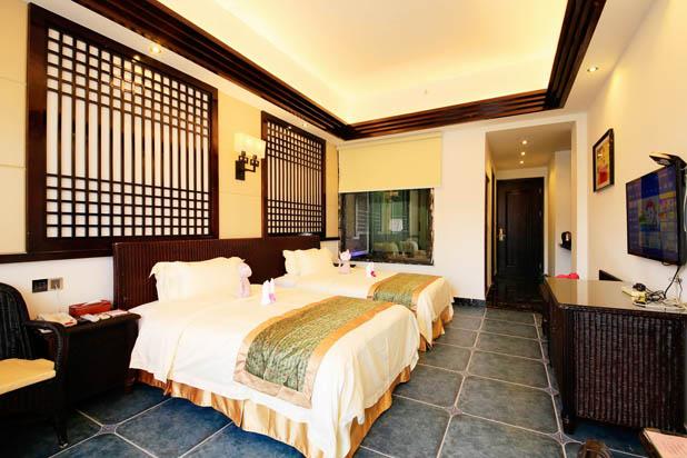 惠州南昆山温泉大观园贵族双床房