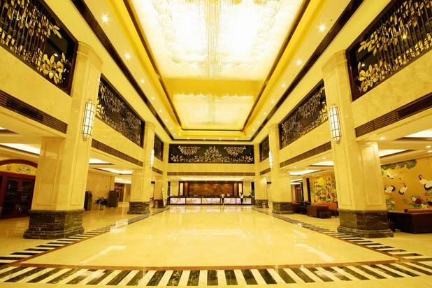 惠州南昆山温泉大观园主楼酒店大堂