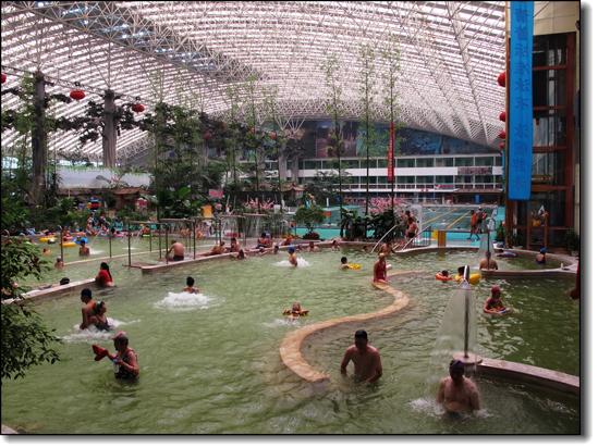 惠州南昆山温泉大观园室内温泉