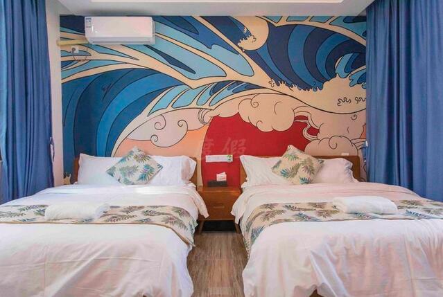 惠州南昆山温泉大观园温泉泳池别墅双床房