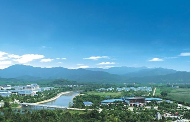 惠州龙门南昆山温泉大观园全景