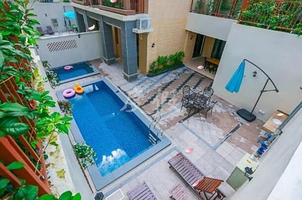 惠州南昆山温泉大观园温泉泳池别墅独家池