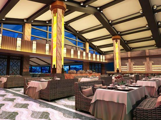 惠州南昆山温泉大观园主楼西餐厅