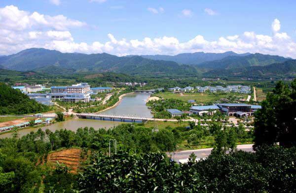 惠州南昆山温泉大观园外景