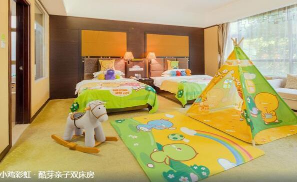 清远聚龙湾天然温泉度假村亲子双床房