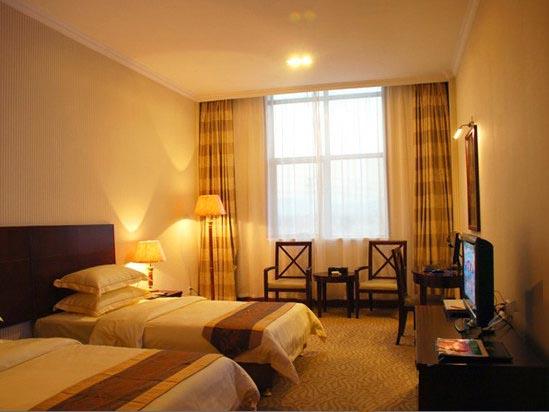 清远聚龙湾天然温泉度假村贵宾楼高级双床房