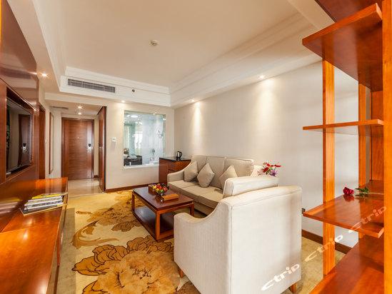 海口香江国际温泉大酒店豪华商务大床套房