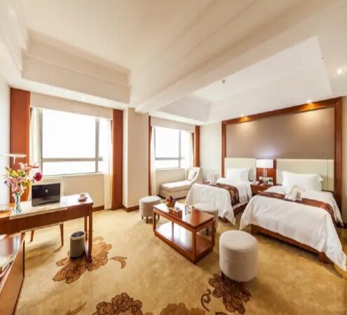 海口香江国际温泉大酒店豪华行政双床房