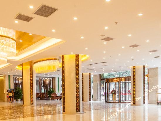 海口香江国际温泉大酒店大堂