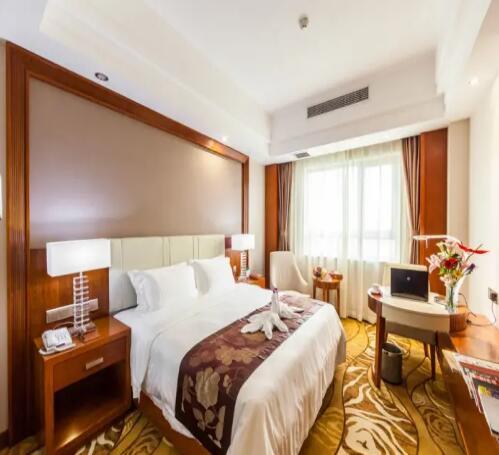 海口香江国际温泉大酒店豪华商务大床房
