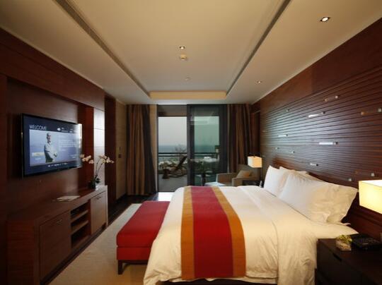 海南雅居乐莱佛士酒店丽景湾-1室景观套房