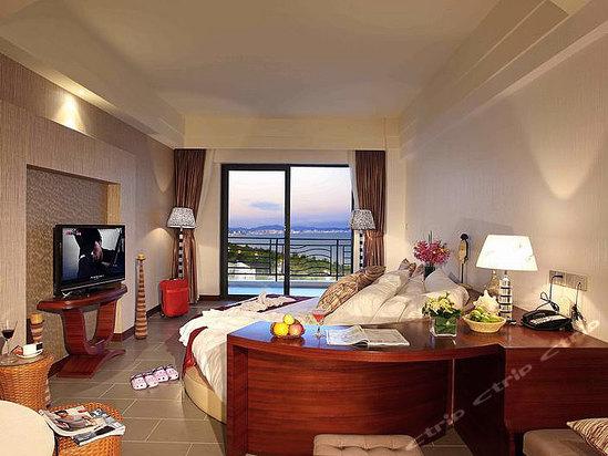 三亚辰光克拉码头酒店克拉海景蜜月房