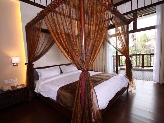 三亚南田温泉好汉坡国际度假酒店极致尊贵房