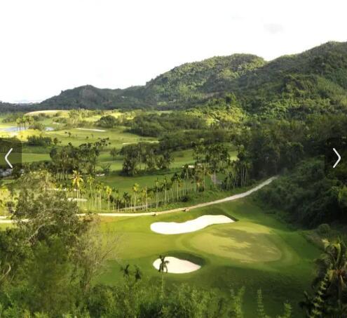 三亚南田温泉好汉坡国际度假酒店高尔夫球场