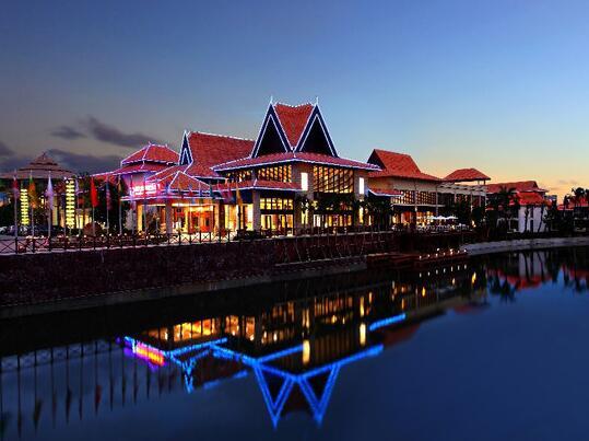 三亚南田温泉好汉坡国际度假酒店外观