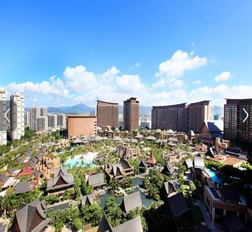 三亚湾红树林度假世界(木棉酒店)外观