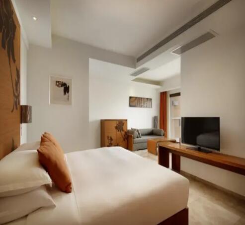 三亚湾红树林度假世界(木棉酒店)豪华园景大床房