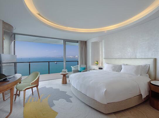 三亚凤凰岛度假酒店海景套房