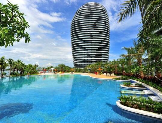 三亚凤凰岛度假酒店外观