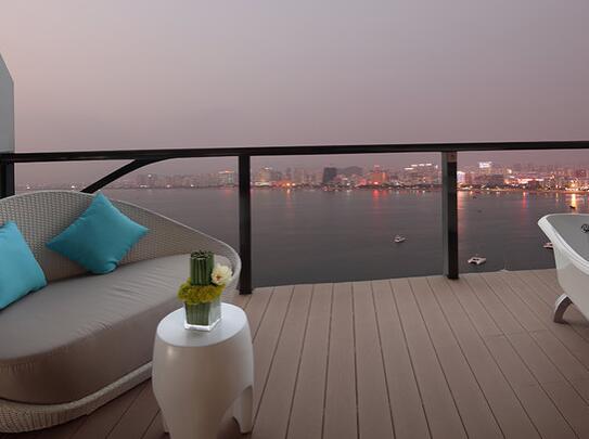 三亚凤凰岛度假酒店客房阳台