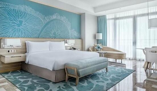 三亚亚特兰蒂斯酒店海景大床房