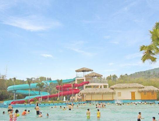 台山康桥温泉度假酒店游泳池