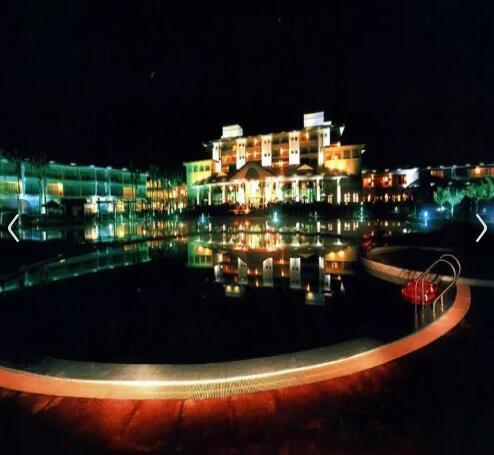 琼海博鳌亚洲论坛金海岸温泉大酒店夜景