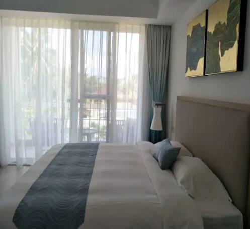 琼海博鳌亚洲论坛金海岸温泉大酒店棕榈岛高级套房