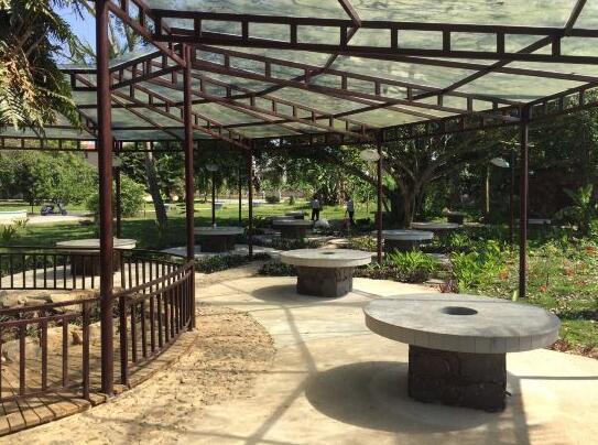儋州蓝洋温泉度假村烧烤场