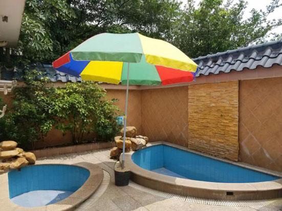 广州增城高滩温泉度假酒店私家温泉池
