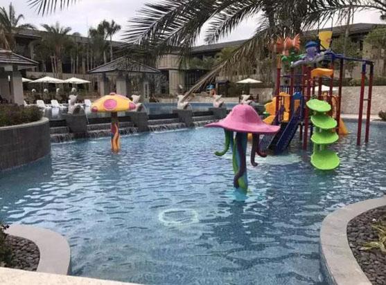 广州从化卓思道温泉度假酒店儿童池