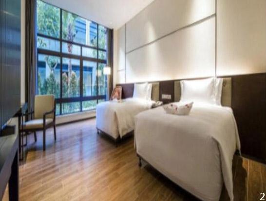 广州从化卓思道温泉度假酒店高级双床房