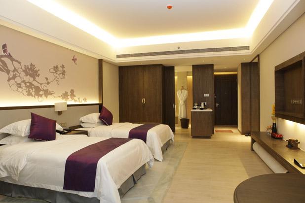 广州从化碧泉空中温泉酒店豪华双床房