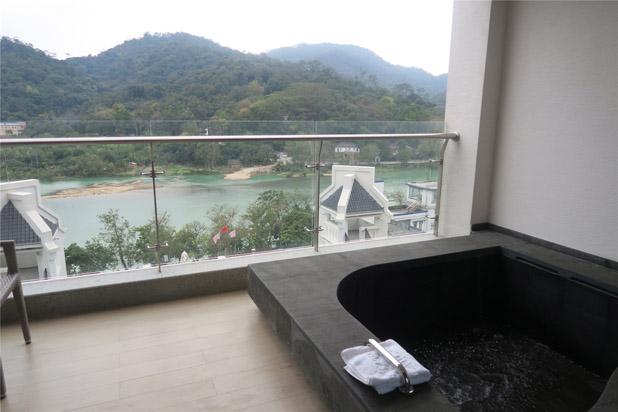 广州从化碧泉空中温泉酒店豪华房独家池