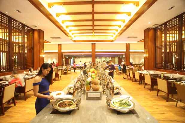 英德宝晶宫天鹅湖温泉度假酒店餐厅