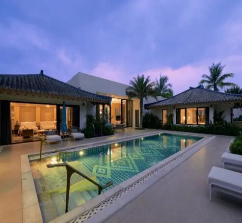 三亚嘉佩乐度假酒店明月苑二居室泳池别墅