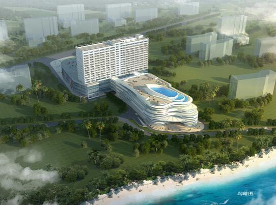 三亚哈曼度假酒店外观