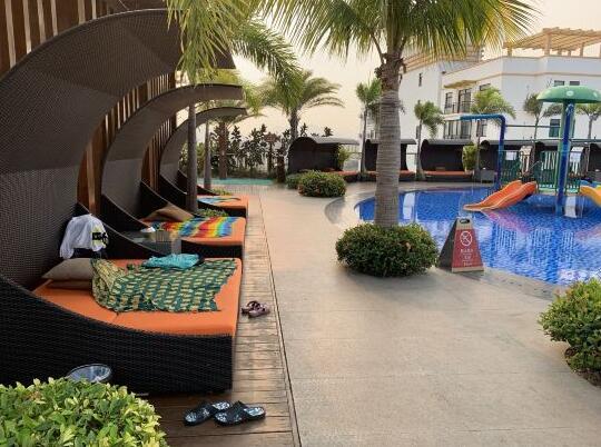 三亚哈曼度假酒店休闲区
