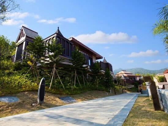 广州从化都喜泰丽温泉度假酒店别墅外景